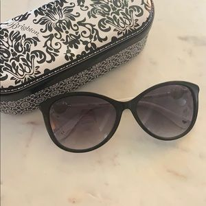 Brighton Ferrara Sunglasses (Black and White)